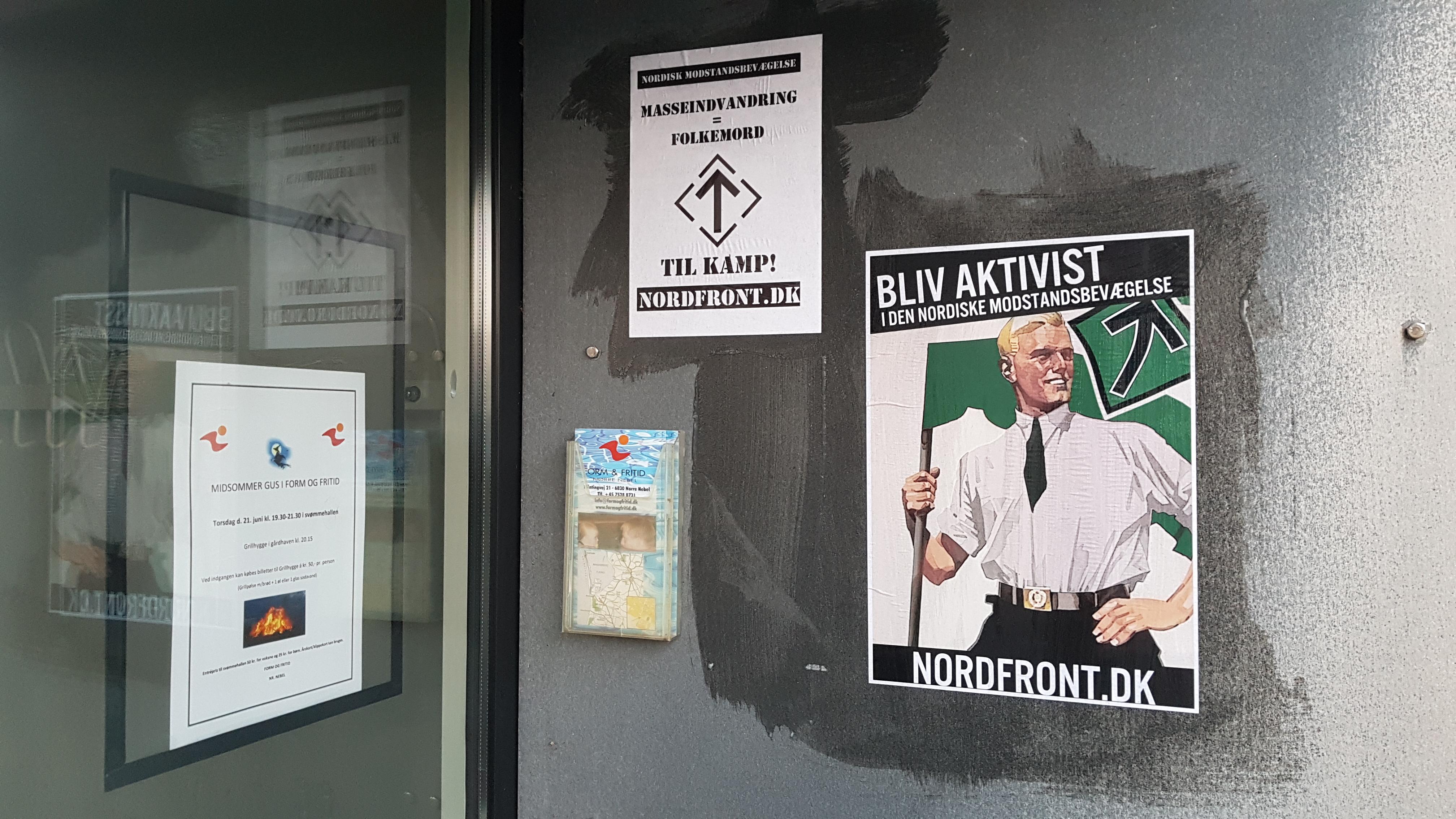 Plakatopsætning i Varde Kommune