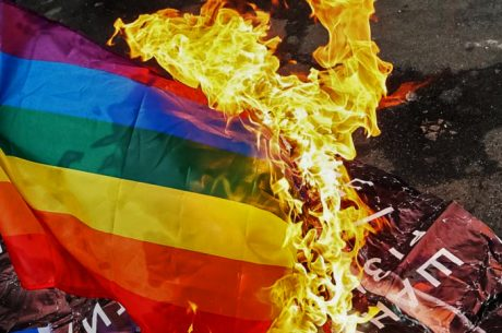 Ebony lesbisk squirter