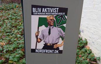 Opsætning af plakater i Kalundborg