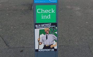 Propagandaspredning i Kalundborg