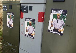 Plakater ved Absalonskolen i Holbæk