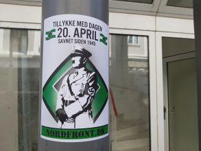 Hitler-plakater i Randers