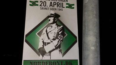 Hitler-plakater i Horsens