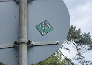 Opsætning af klistermærker på Bornholm