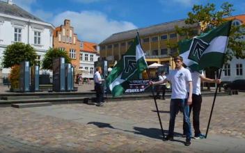 Aktion i Viborg