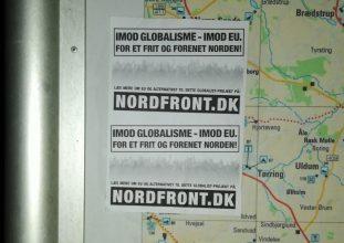 Propagandaspredning i Silkeborg