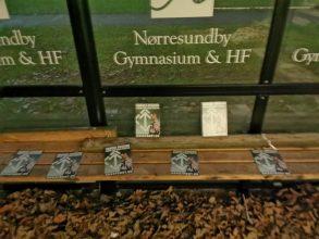 Nørresundby Gymnasium fik flyveblade