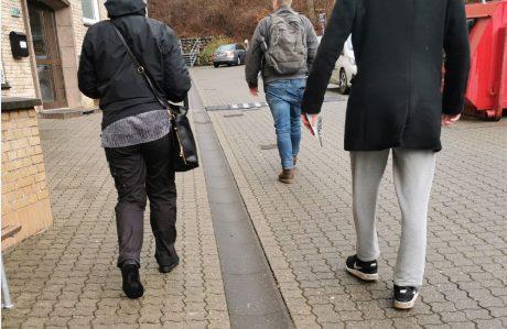 En gruppe aktivister var til et socialt arrangement i Randers i weekenden
