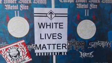 White Lives Matter-plakater i Aalborg
