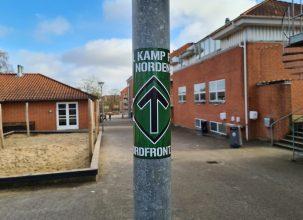 Propagandaspredning på nordjysk skole