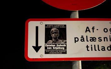 Plakater i Nyborg